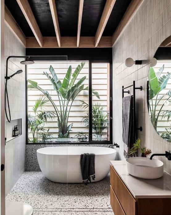 Một số xu hướng trang trí nội thất cho phòng tắm 2020-2021