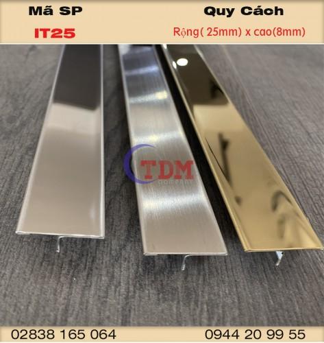 Những điều bạn cần biết về nẹp inox 304 T25mm
