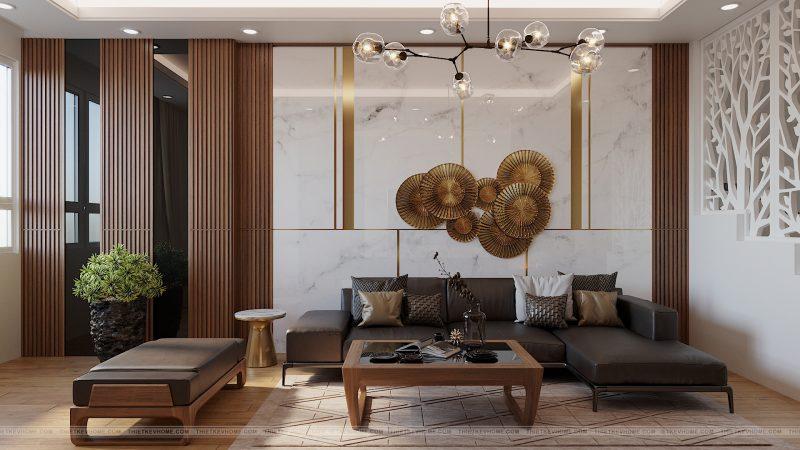 Sử dụng đồng thau tấm trong thiết kế nội thất-Xu hướng của thiết kế hiện đại