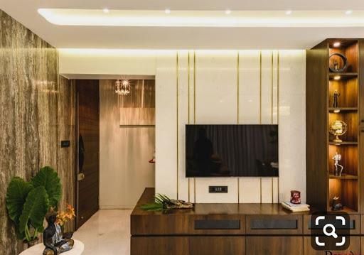 Thiết kế nội thất cùng nẹp trang trí