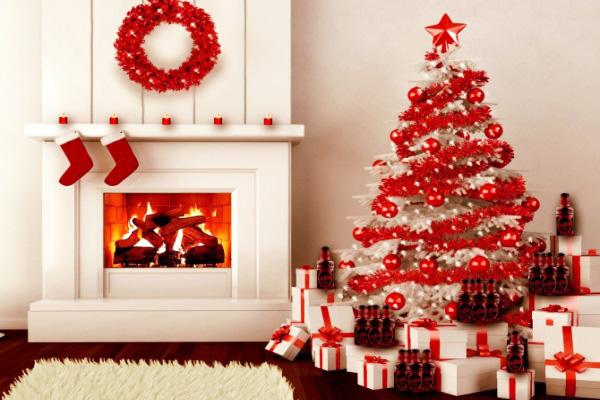Trang trí cầu thang ngôi nhà bạn trong mùa giáng sinh