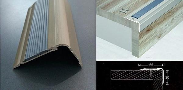 Ưu nhược điểm của nẹp chống trơn cầu thang